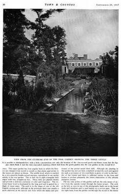 Old Long Island: The Gardens of 'Oak Hill'