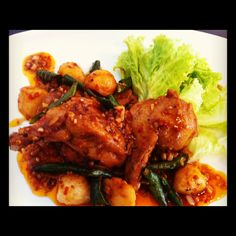 Spicy Chicken Wings @ That's Aroma! Restaurant & Bar