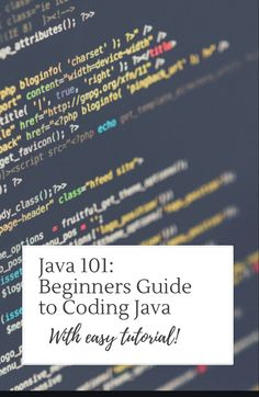 Learn how to code Java!