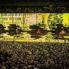 """I am not invisible, I am here"" #U2 #U2ieTour Photo by Ben Houdijk"