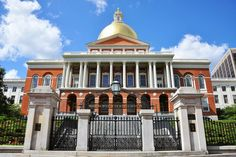 Massachusetts State House - Featured on RueBaRue
