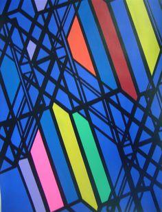 """""""Billund"""" Alfonso Cintado Acrrylic on paper 70x 50 cm 2014"""