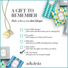 Stella & Dot: My Favorite Holiday Gift Ideas under $30 - Giveaways 4 Mom