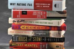 Best non-fiction books to read. I guess I can make myself read non-fiction. ugh.