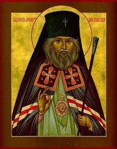 Saint John [Maximovitch], Archbishop of Shanghai and San Francisco Russian Orthodox, Son Of God, Shanghai, Jesus Christ, Saints, San Francisco, Father, Princess Zelda, Saint John