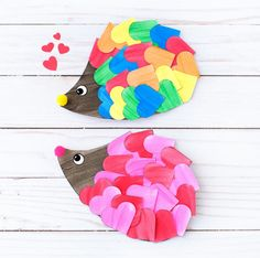Valentine's Day Crafts For Kids   Check out these adorable Valentines crafts that are simple and easy for kids of all ages. #kidscrafts #kidsactivities #preschool #kindergarten #elementary #valentine