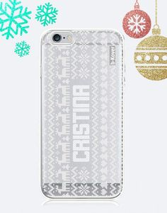 funda-movil-christmas-minimal-personalizada-3 Phone Cases, Christmas, Collection, See Through, Mobile Cases, Xmas, Yule, Christmas Movies, Noel