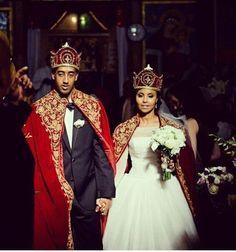 Eritrean wedding in Seattle Design Center: Beri + Seare Ethiopian Wedding Dress, Ethiopian People, African Wedding Attire, African Royalty, Eritrean, Ethnic Wedding, African American Weddings, African Culture, African Beauty