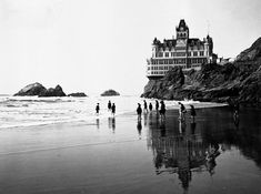 The curious history of the house on a cliff//