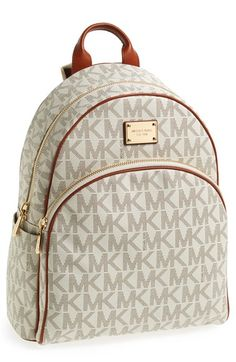 MICHAEL Michael Kors 'Large' Backpack. http://feedproxy.google.com/fashiongobags1