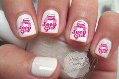 Hey, I found this really awesome Etsy listing at https://www.etsy.com/ca/listing/233621831/jeep-girl-nail-art-decals