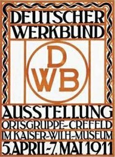 Cartel Deutscher Werkbund