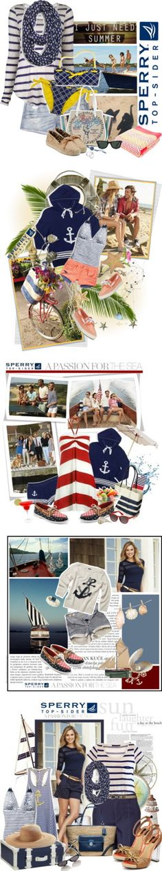 """""""Winners for Pack for Vacationland with Sperry Top-Sider"""" by polyvore ❤ liked on Polyvore"""