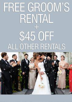 Wedding Special by Tuxedo-By-Sarno - Tuxedos