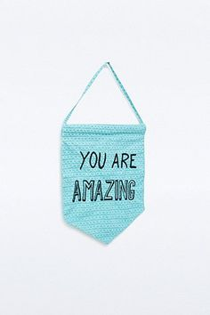 Great You Are Amazing Banner Urban Outfitters