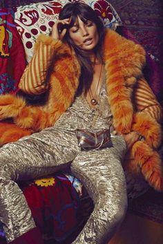 Lily Aldridge by David Roemer for S Moda November 2014