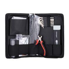 Guitar String Winder Plier Fretboard Cleaner Screwdriver Gauge Guitar Maintain Cleaning Tool Kit Set