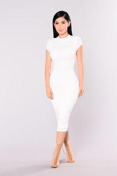 f9011defb6e2 Jojo Dress - White Fashion Nova Jumpsuit, Nova Dresses, Sexy Dresses, Fashion  Dresses