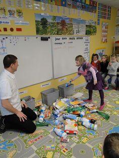 éco-école de Volstroff: Tri selectif à la maternelle...