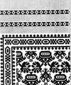 Digitalt Museum - Mønster fra strikket silketrøye funnet i graven til Christian IV´s barn Maria Catharina, død 1628. Begynnelsen av 1600-tallet, Danmark.