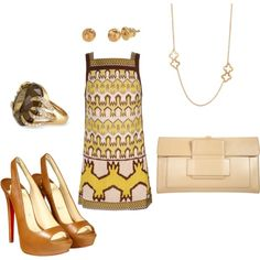 Untitled #91, created by martha-daly-deetjen on Polyvore featuring the Stella & Dot - Aurora Cocktail Ring