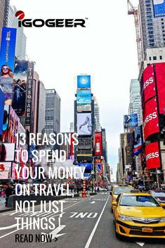 At IGOGEER we have been scouring the internet for more great travel articles for you. This time we have found you a great article gives you 13 reasons to spend your money on travel, not 13 Reasons, Travel Articles, Travel Usa, Just Go, Adventure Travel, Money, How To Plan, Reading, City