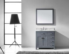 Contemporary Art Websites Caroline Parkway u Single Bathroom Vanity Cabinet