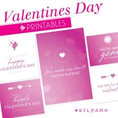 FREE #ValentinesDay printables! | Silpada Blog