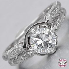 Edwardian Wedding Ring Setting