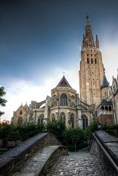 | ♕ |  The Church of Our Lady in Bruges  | by © Luigi Viggiano | via ysvoice