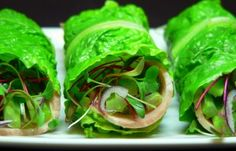 Lettuce wraps instead of wheat wraps. Fill with whatever you enjoy in a sandwich ... lunch meat, cheese, veggies, etc.