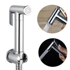 Shower Heads All Copper Handheld Shower Head Multi-function Pressurized Spray Gun Cylindrical Portable Small Nozzle Bringing More Convenience To The People In Their Daily Life