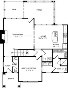 Ellsworth Cottage - Caldwell/Cline Architects   Southern Living House Plans