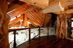 'Timber Kings' Log Mansion in Big White Yours For $6.8-Million (PHOTOS) | Pricey Pads