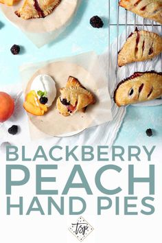 Celebrate seasonal produce by whipping up Blackberry Peach Hand Pies! Whether you're playing host, surprising a friend or baking for yourself, these individual hand pies make the perfect summer dessert! | Mixed Fruit Hand Pies | Baked Hand Pies | Easy Hand Pies | Summer Hand Pies | Southern Hand Pies | Peach Dessert | Blackberry Dessert | Summer Dessert | #speckledpalate