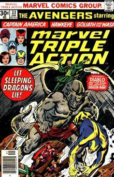 Marvel Triple Action 33- John Buscema