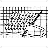 Detail Image Gobelin Stitch