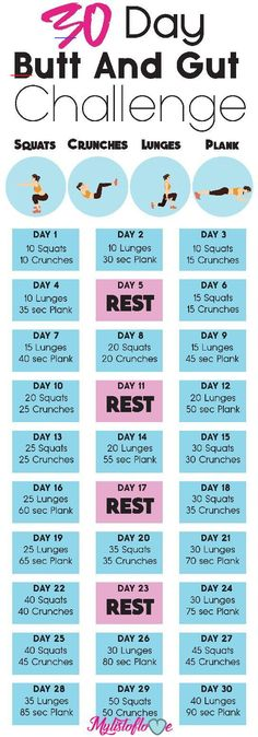 But and intestinal challenge health fitness, 30 day fitness, fit . - Workout at Home Fitness Herausforderungen, Health And Fitness Expo, Fitness Workouts, Physical Fitness, Fitness Motivation, Butt Workouts, Fitness Circuit, Fitness Goals, Good Workouts