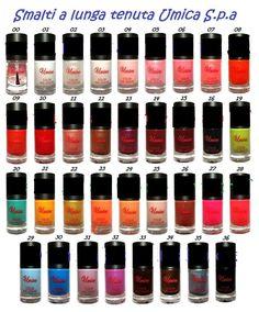 Smalti autolivellanti a lunga durata :) ben 35 colori