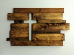 Rustic Wooden Cross - Covered Bridges Woodworking, LLC #woodcraftkids