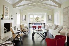 Ranch Restored Living Room by Rozalynn Woods Interior Design