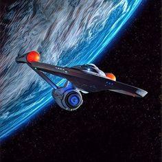 Uss Enterprise, Star Trek Enterprise Ship, Star Trek Tattoo, Star Trek Wallpaper, Star Trek Posters, Nave Star Wars, Asgard, Science Fiction, Star Trek Original Series