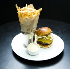 The Comme Ça Burger by Michael David | Photo: Kevin Scanlon for The New York Times