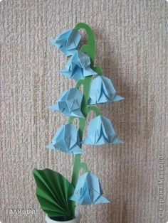 Master class Origami: Bell (origami). MK Paper.  Photo 1