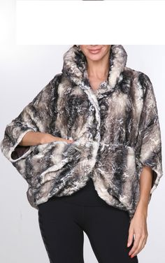 Taupe Multi Fur Faux Jacket By Lindi - http://aquaboutique.com.au/shop/taupe-multi-fur-faux-jacket-lindi/