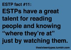 I love watching people! I learn som much about them by doing it.