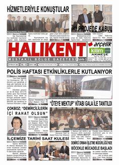 Öteye Mektup, Halıkent Gazetesi'nde...