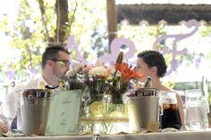 Agus y Fer, señalizaciones de mesa, love...love...love