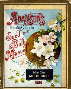"Adamson's Seed Catalog Cover, 1898-- 300ppi, 3x4"".jpg 1,000×1,264 pixels"