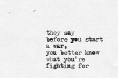 Don't fight over something that isn't worth fighting for.